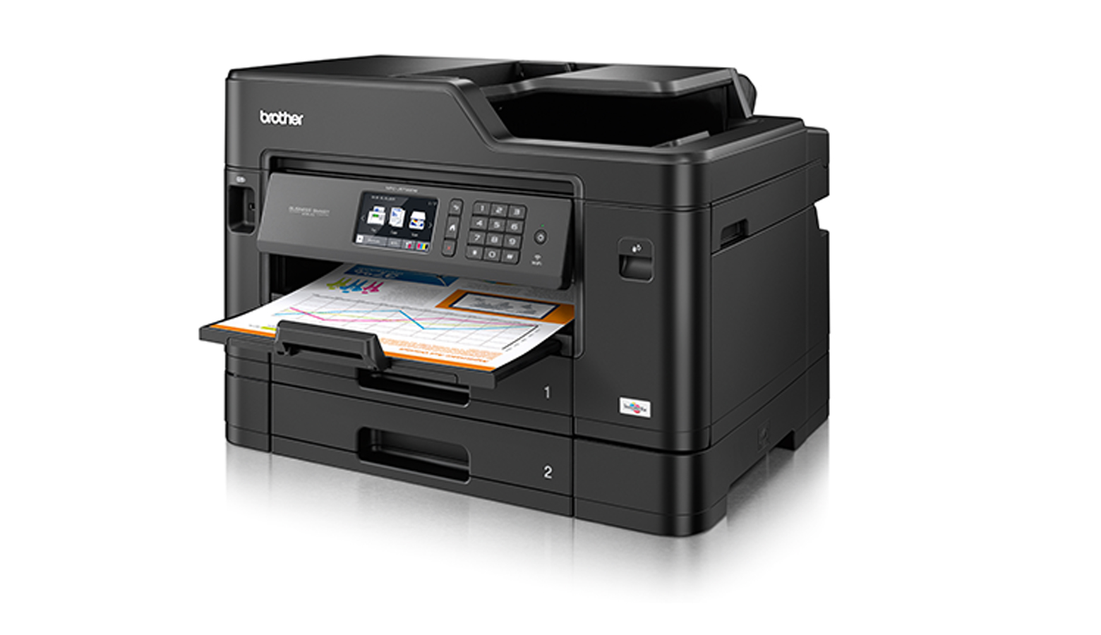 Brother's new business smart inkjet printer range with wireless