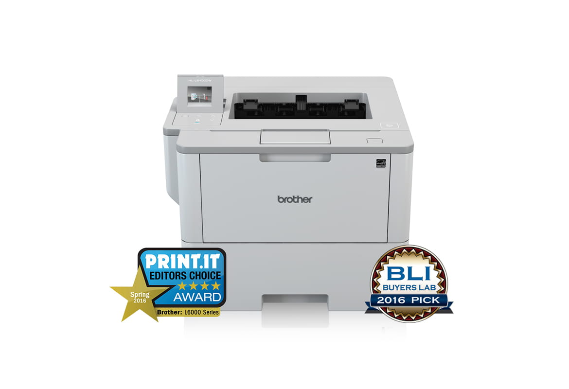 Brother HL-L6000 Series of Mono Laser Printers wins Print IT Editor's Choice Awards