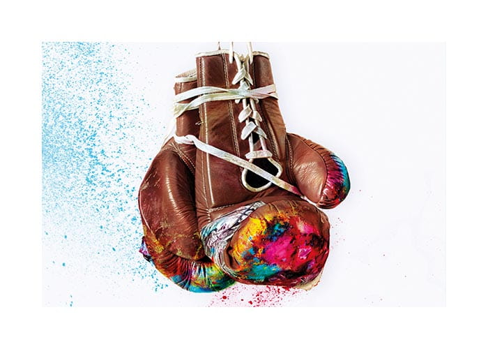Boxing glove image