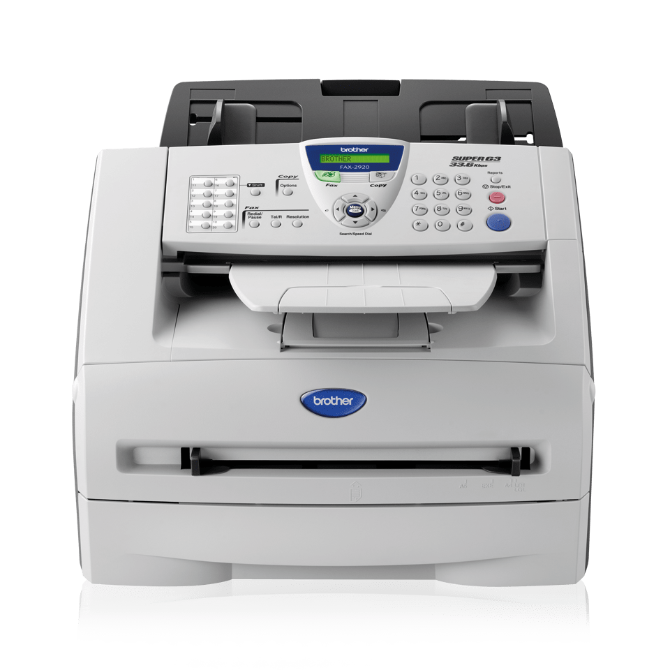 Fax2920 Fax Machines Brother Uk