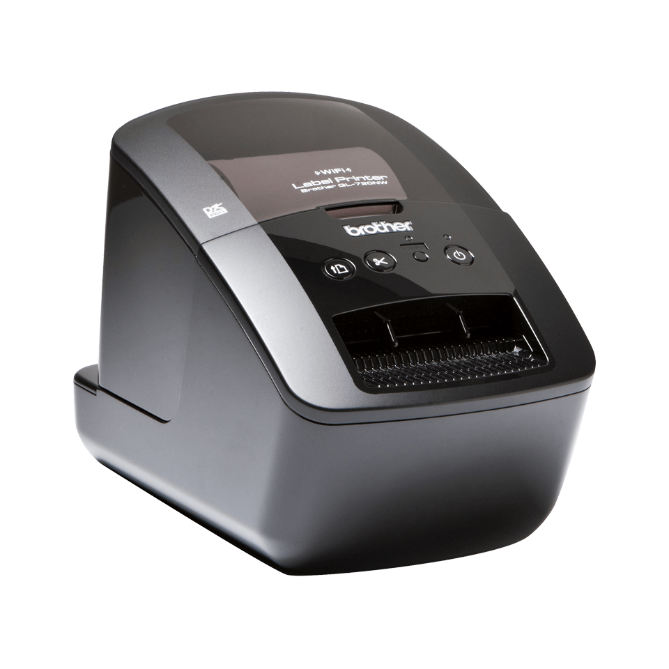 ql 720nw compact wireless label printer brother uk. Black Bedroom Furniture Sets. Home Design Ideas