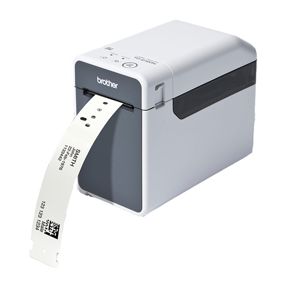 Td 2130nhc wristband and label printer brother uk for Brother label printer templates