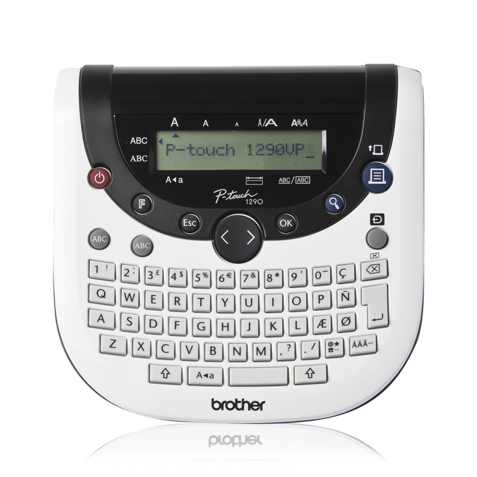 Brother P Touch 1290 Instruction Manual Manual Guide Example 2018