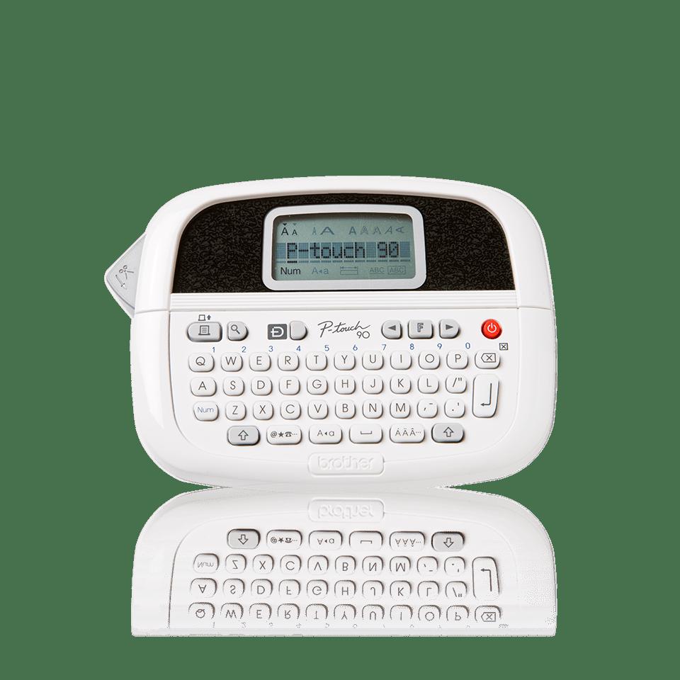 Brother P Touch Pt90 Handheld Label Maker: Handheld Label Printer With Keypad