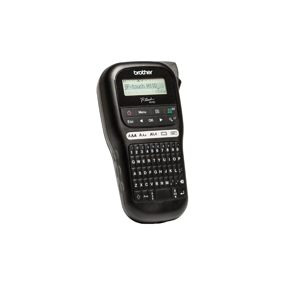 Brother P Touch 110 Handheld Label Maker: Compact Handheld Labelling Machine