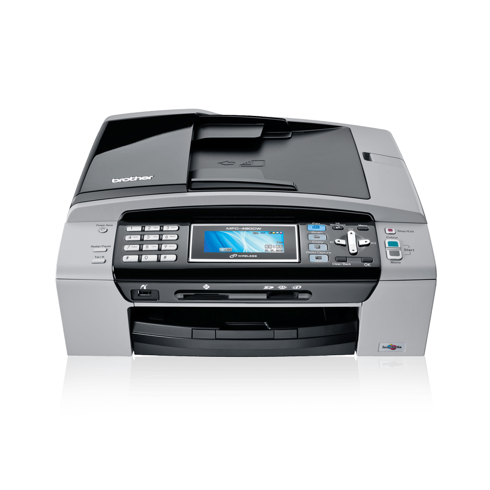 brother mfc 640cw manual various owner manual guide u2022 rh justk co Brother Wireless Multifunction Printer Brother Multifunction Printers Software