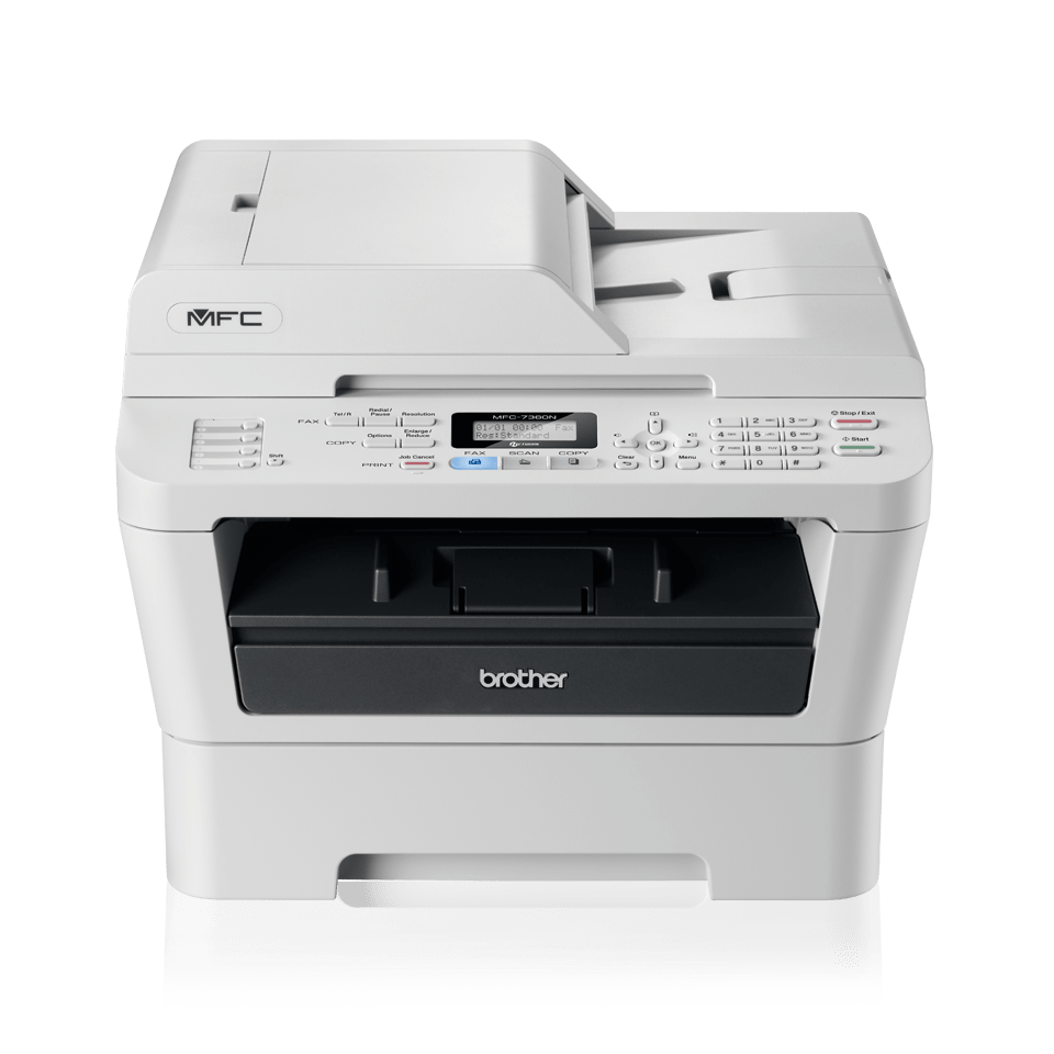 Mfc 7360n Mono Laser All In One Fax Network Home Or Small 2 Way Printer Switch Office Brother Uk