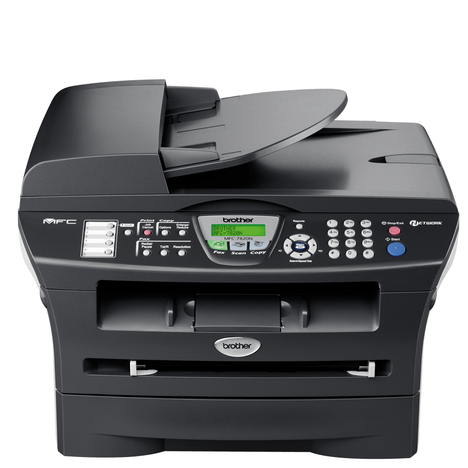 Brother mfc series mfc-7820n workgroup up to 20 ppm monochrome.