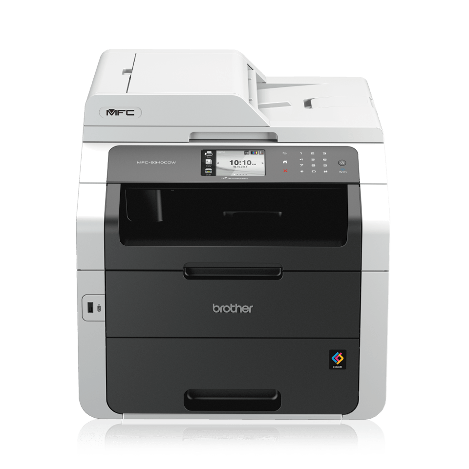MFC-9340CDW Colour Laser All-in-One + Duplex, Fax, Network, Wi-Fi