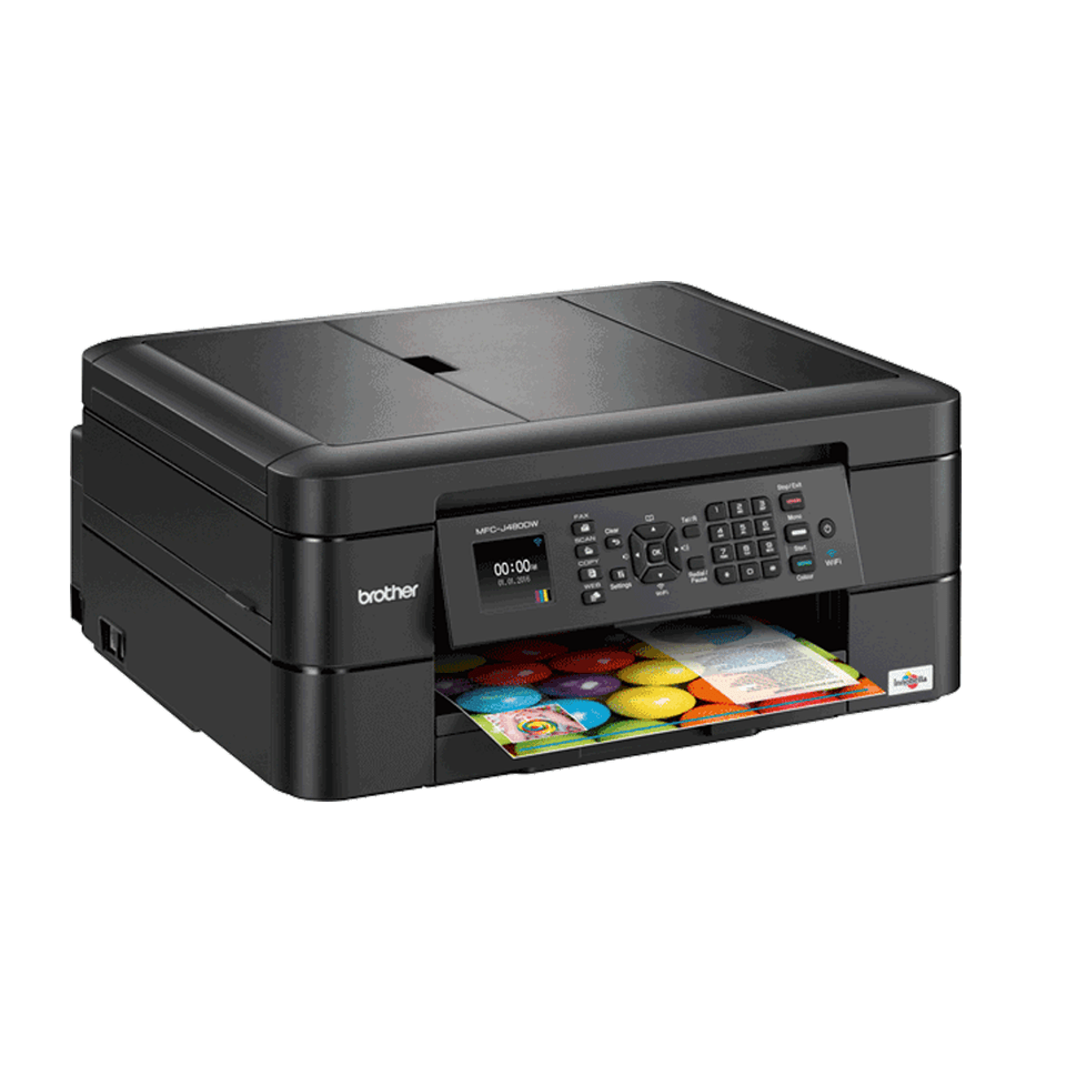 Mfc J480dw Wireless Compact Inkjet Printer Brother Uk