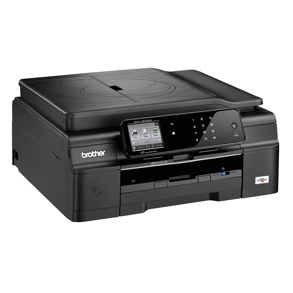 Mfc j870dw all in one inkjet printer duplex fax nfc for Best home office inkjet printer