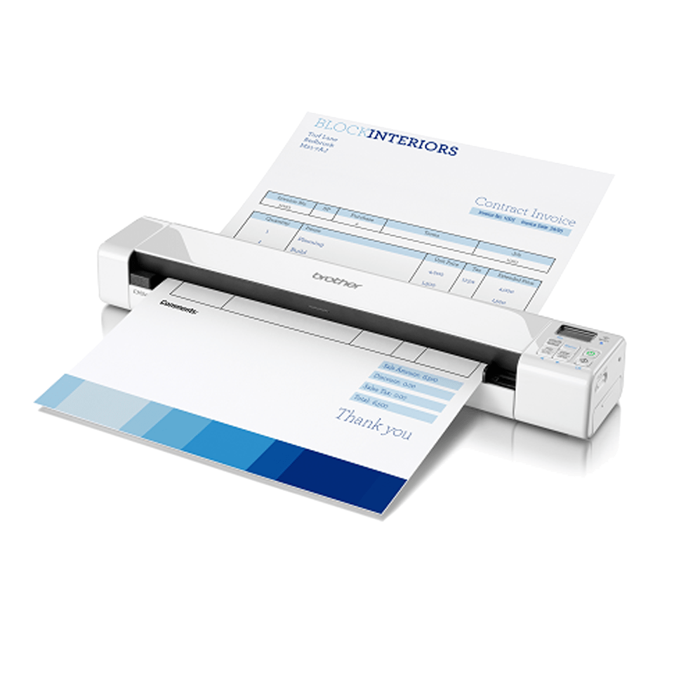 DS-820W | Wireless Portable Document Scanner | Brother UK
