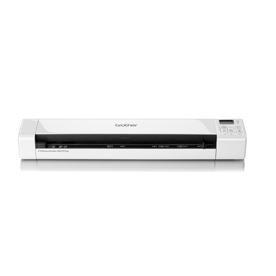 Ds 820w wireless portable document scanner brother uk for Brother ds 820w wireless mobile color page scanner