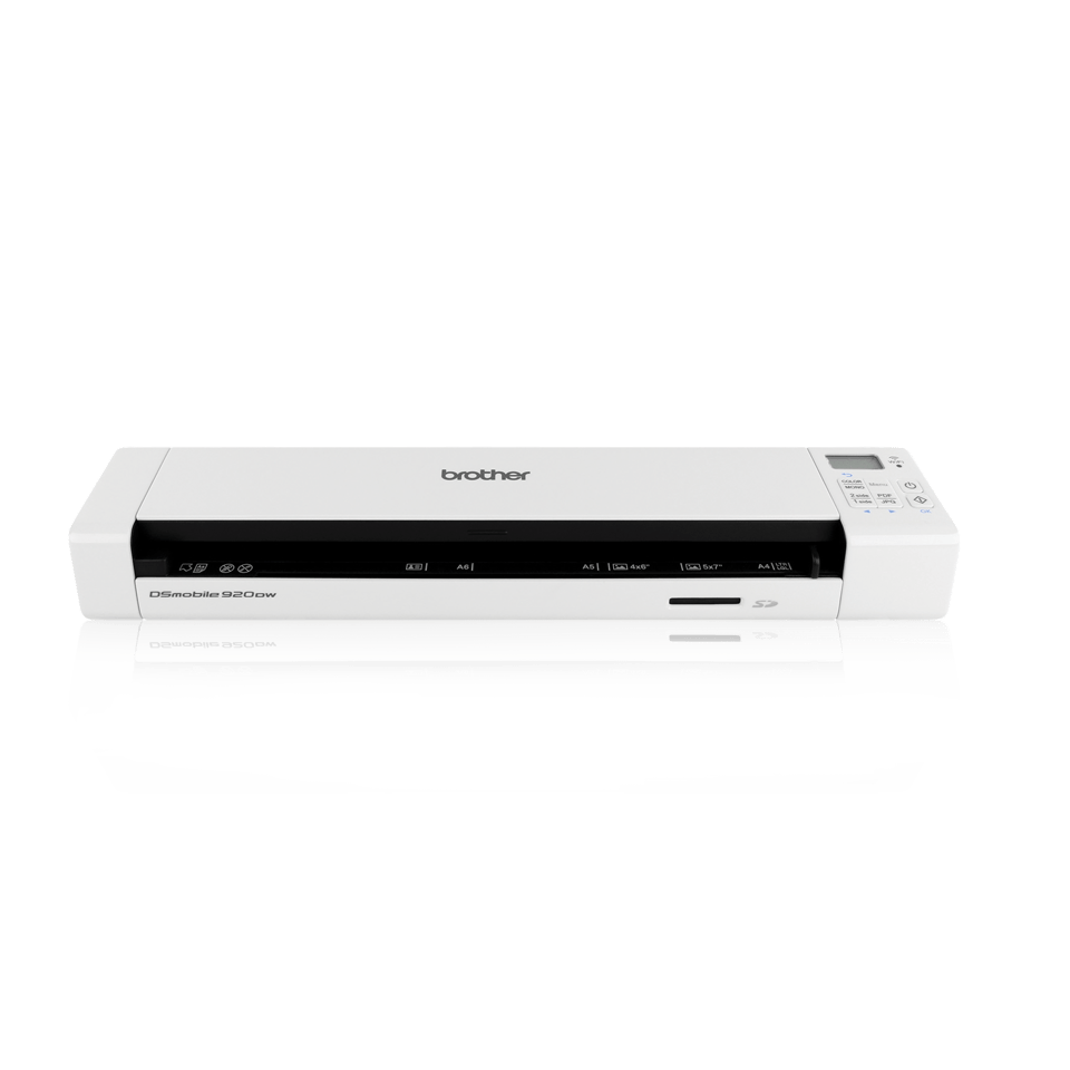 Ds 920dw Wireless Portable Document Scanner Brother Uk