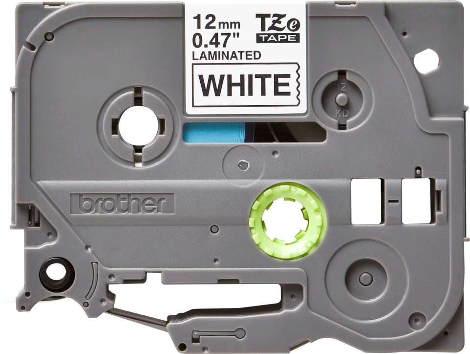 Tze 231 Tze Tape 12mm 0.47 Laminated Black on White 10 Pack Compatible Brother Ptouch Label Maker Tape