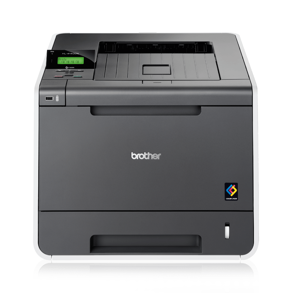 how to connect a brother printer to a network