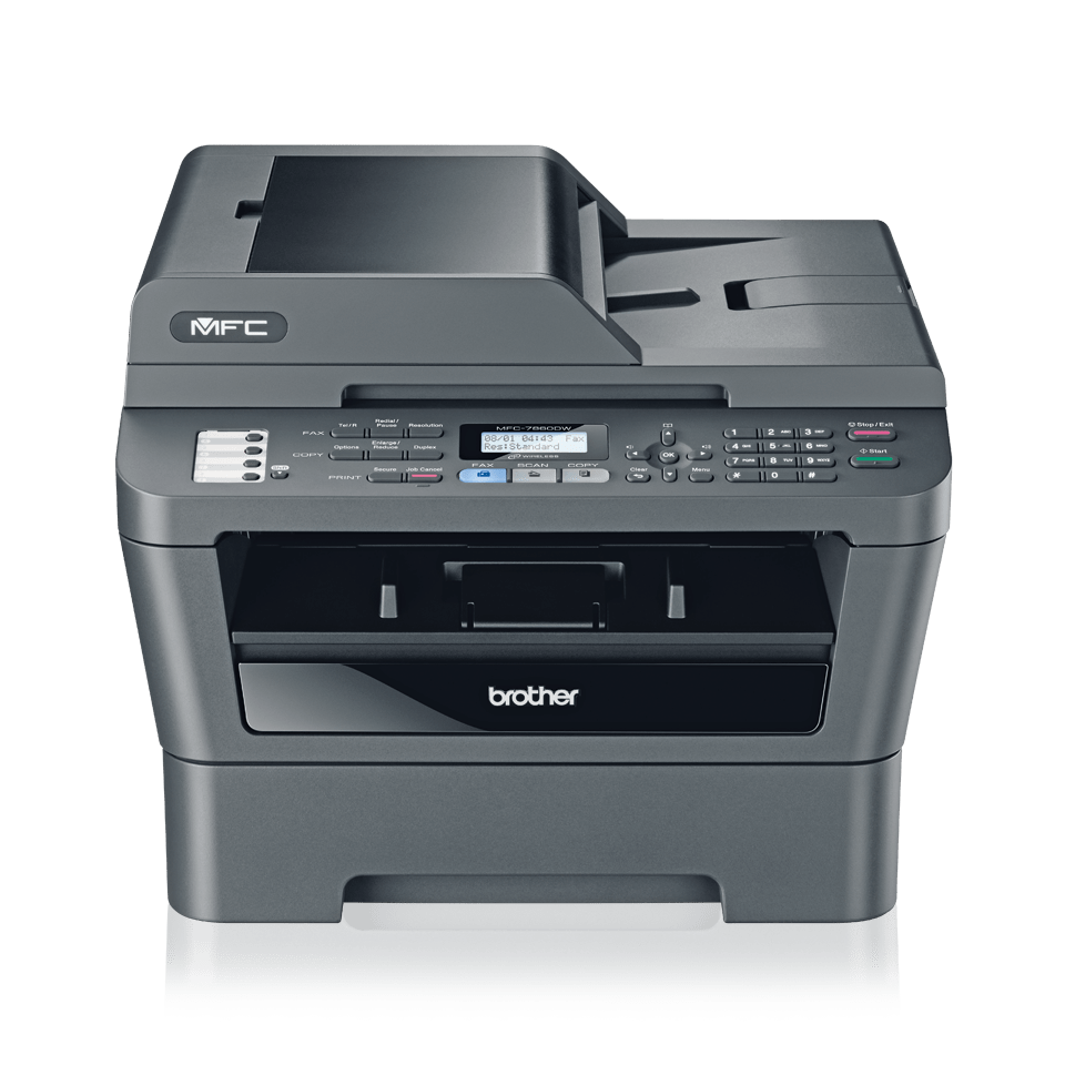 Mfc 7860dw mono laser all in one duplex fax network for Best home office multifunction laser printer