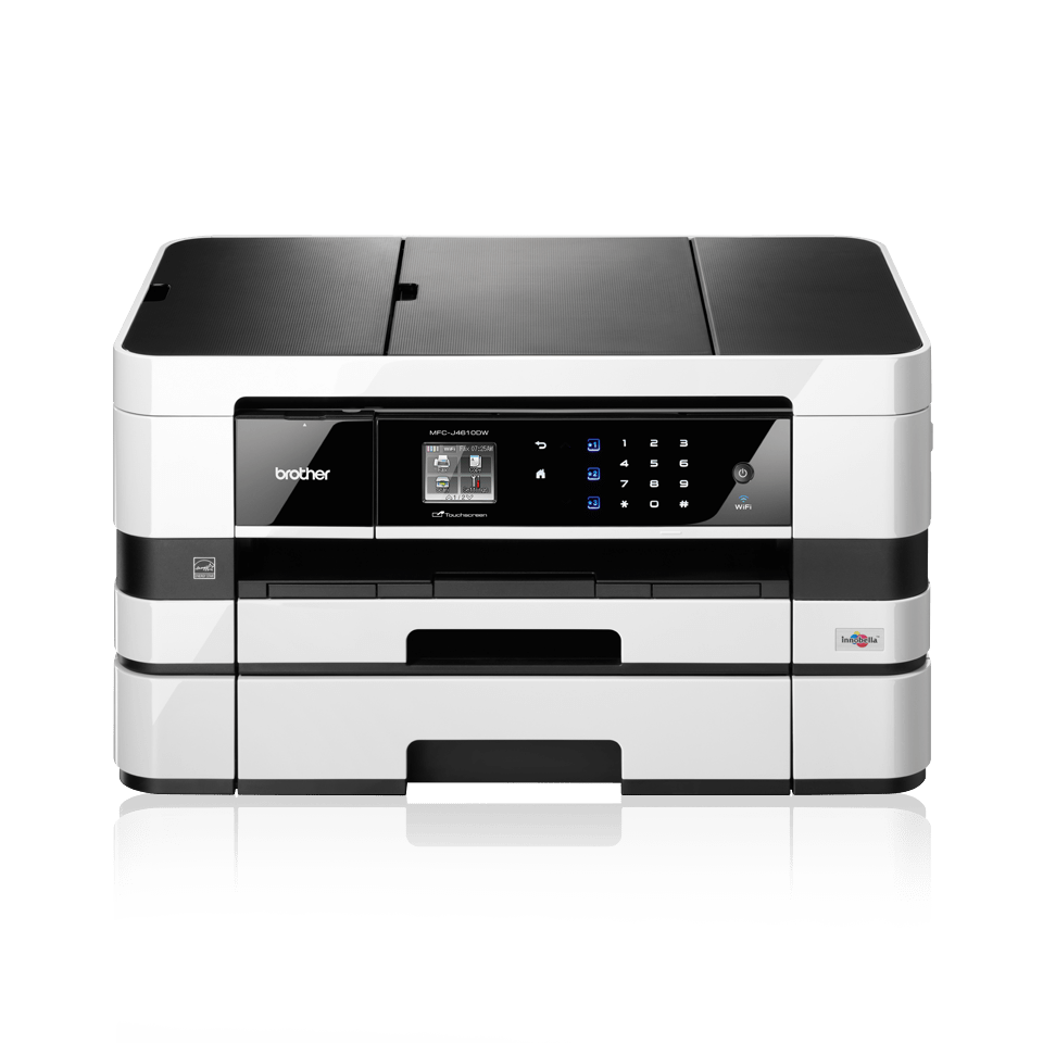 brother printer how to use automatic document feeder