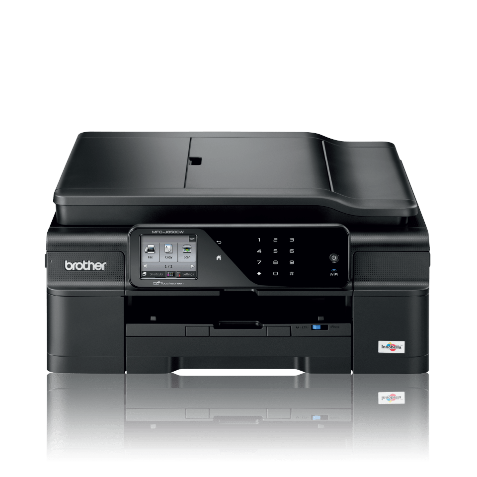 Mfc j650dw all in one inkjet printer duplex fax and for Best home office inkjet printer