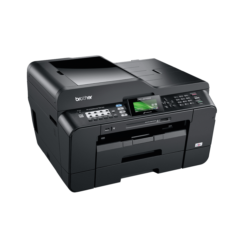 how to make 2 sided copies on brother printer