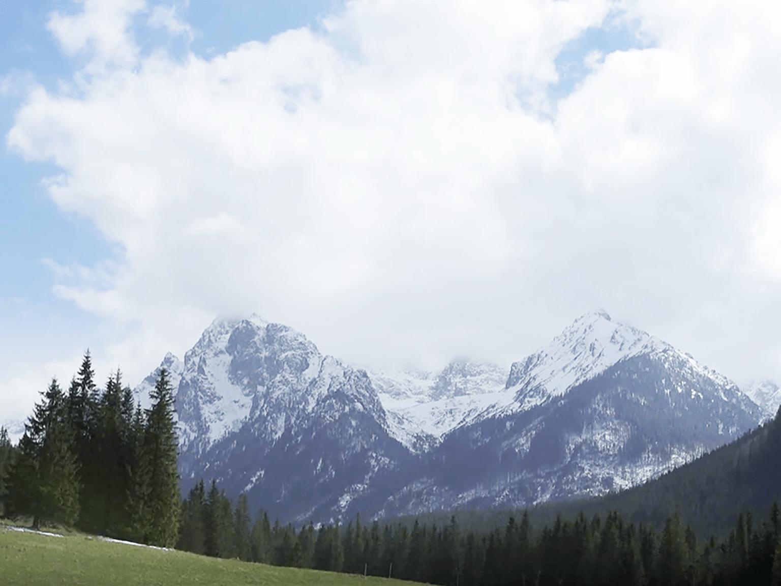 High Tatras Mountains Clouds