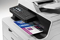 MFC-L3750CDW multifunction colour printer with colour print out