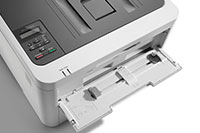 HL-L3210DW colour printer with manual feed open