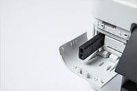 White inkjet printer with USB stick inserted - MFC-J895DW