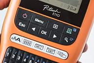 PT-E110 dedicated function keys