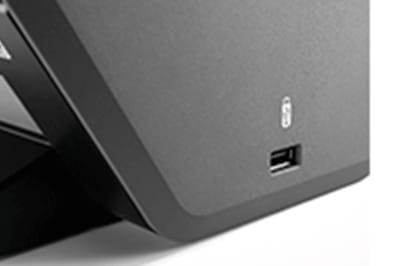Black scanner USB host