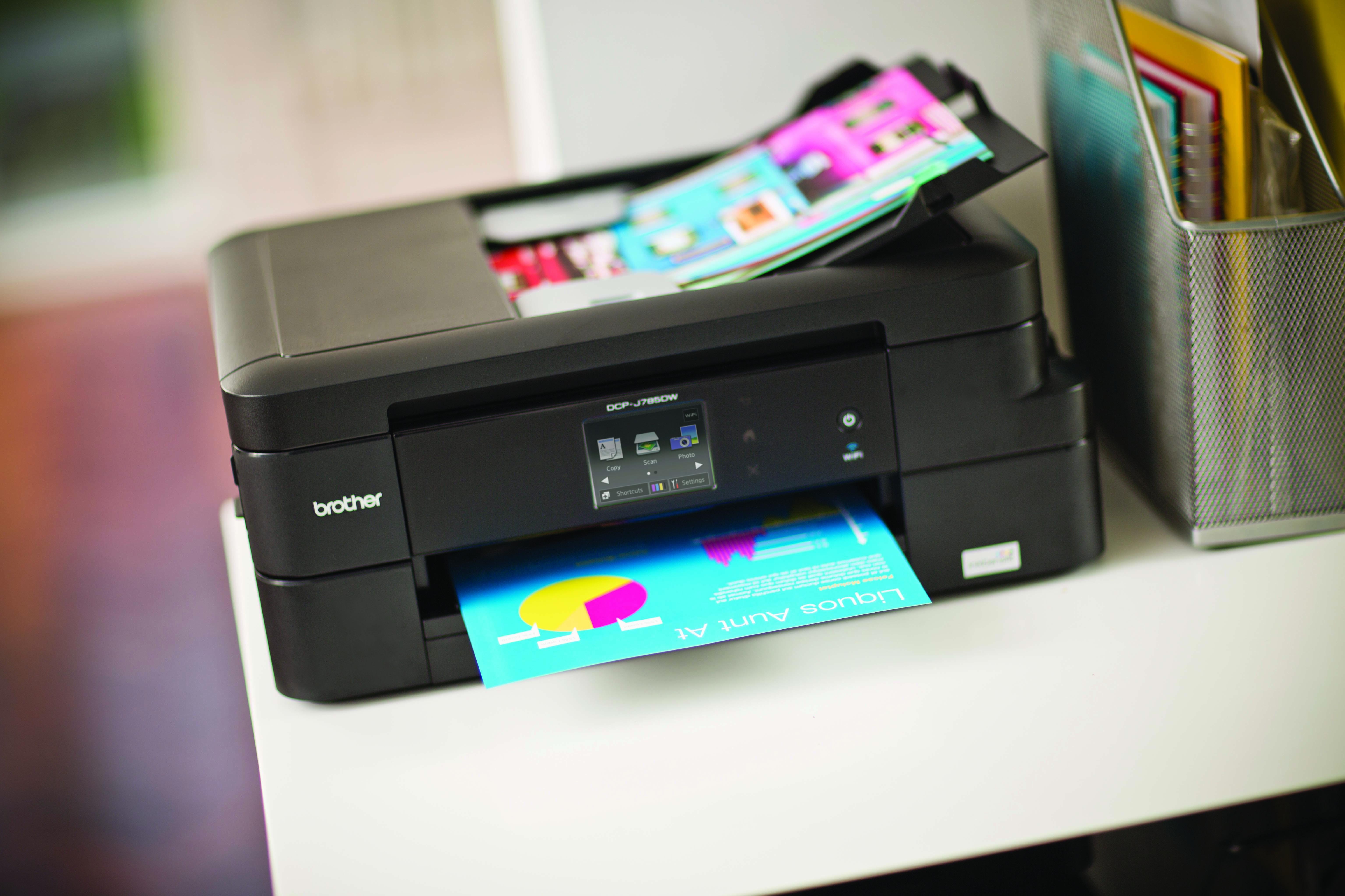 DCP-J785DW compact printer