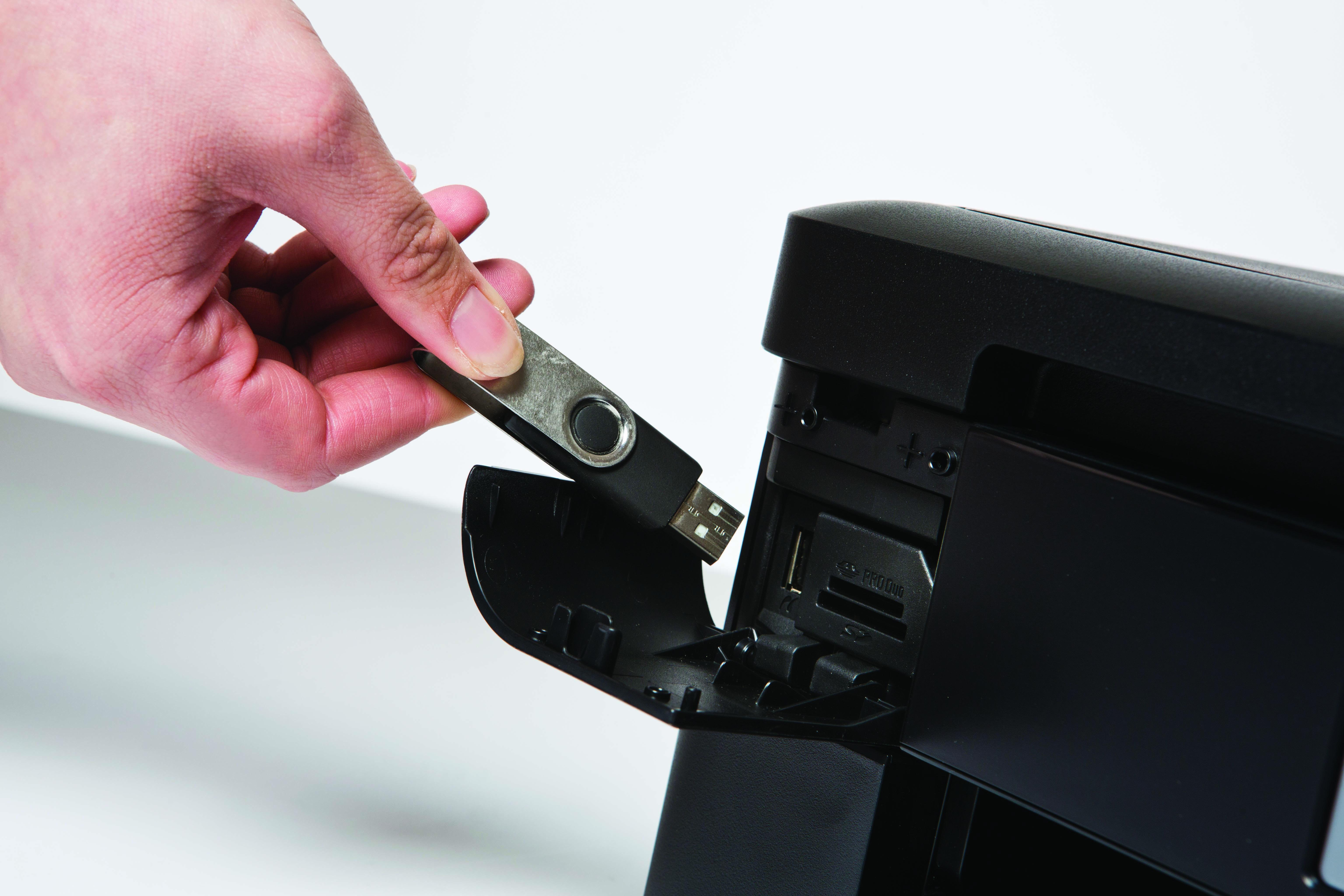 DCP-J785W USB printing