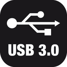 SuperSpeed USB 3.0 connection interface