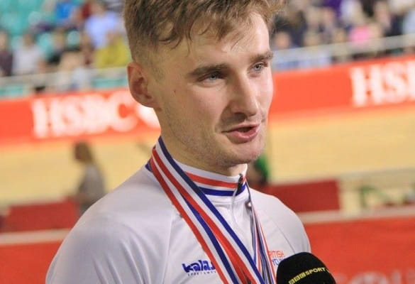 Dan Bigham, Elite Track Cyclist, Team KGF Rider