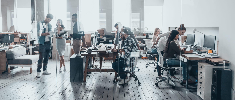 SME modern office setting