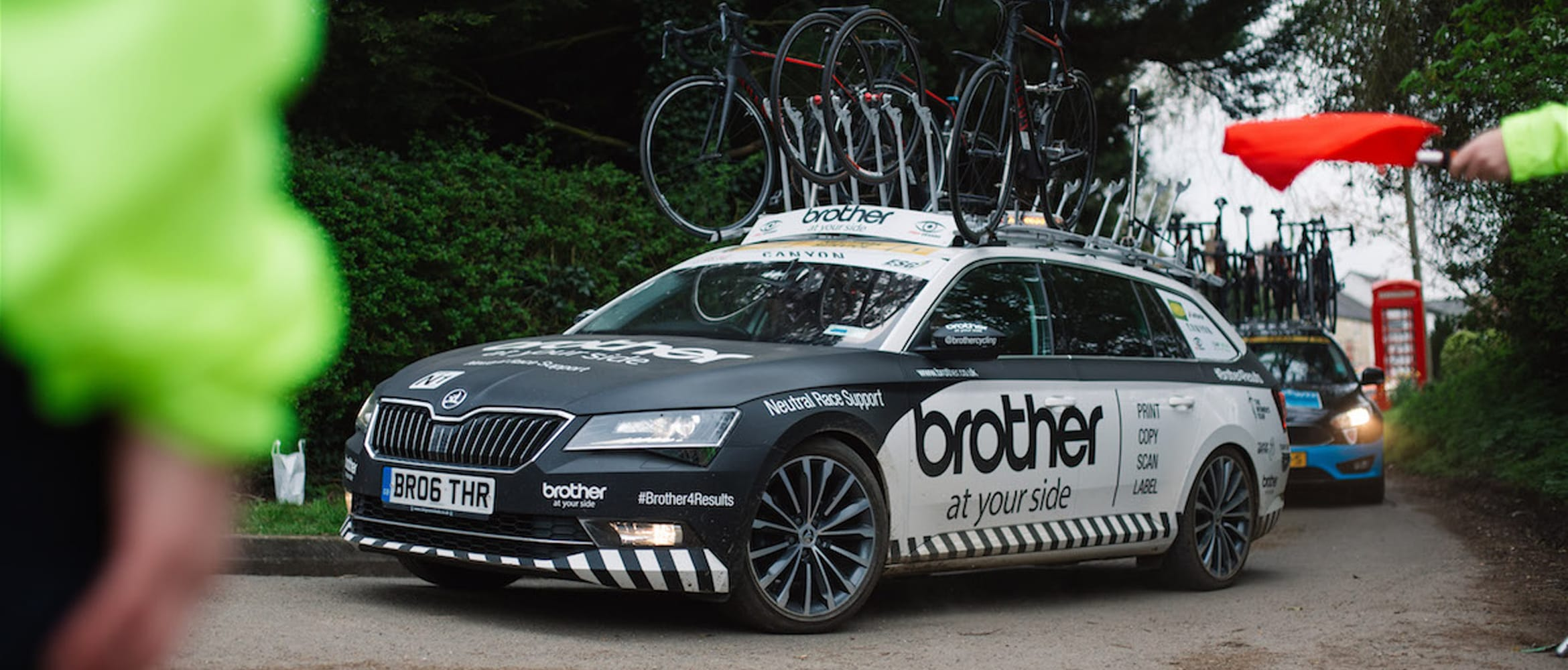 Brother cycling neutral support car