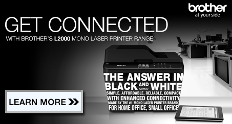 L2000 series printers on black and white