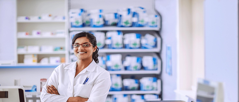 pharmacy worker