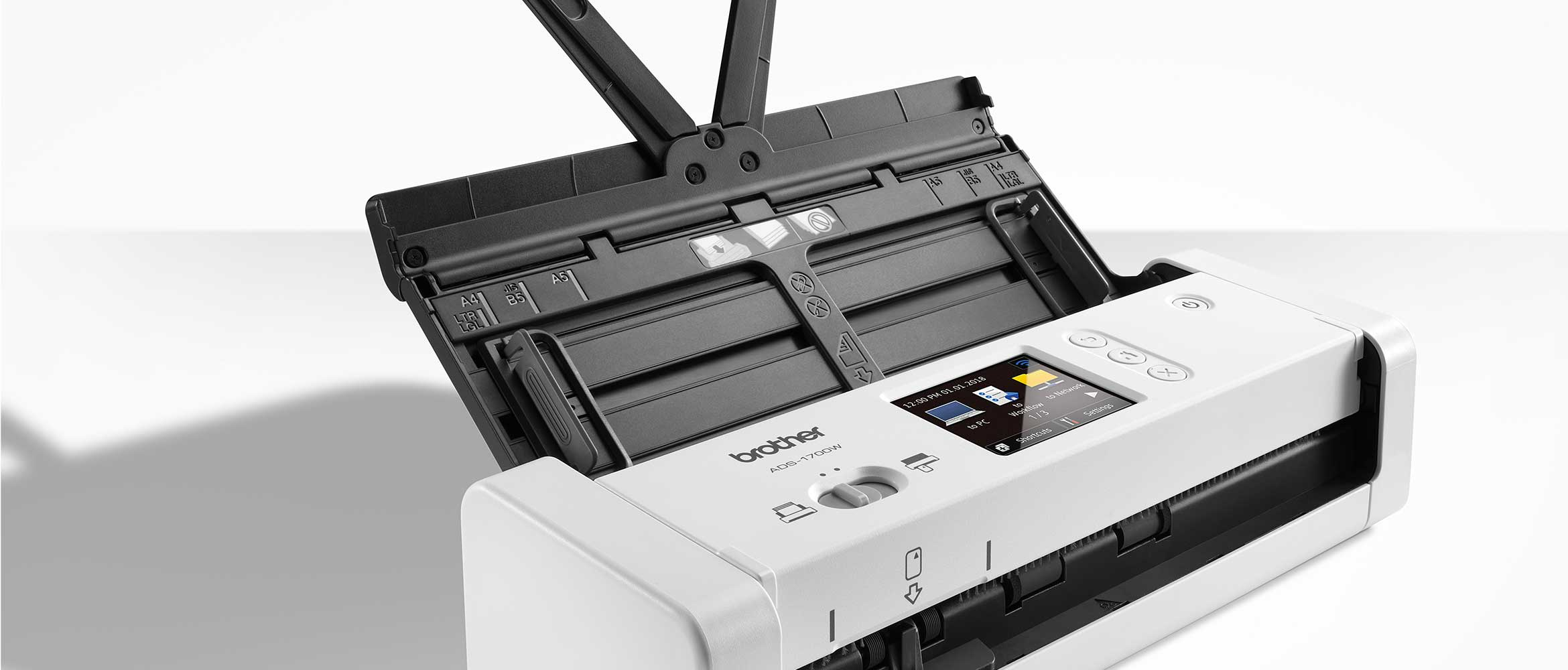 Brother ADS-1700W compact document scanner