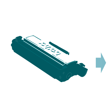 Printer cartridge icon