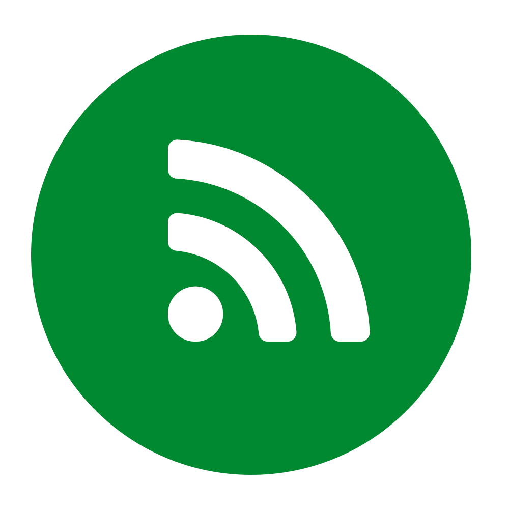 Range of connectivity options icon on green background