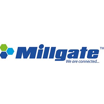 Millgate we are connected logo