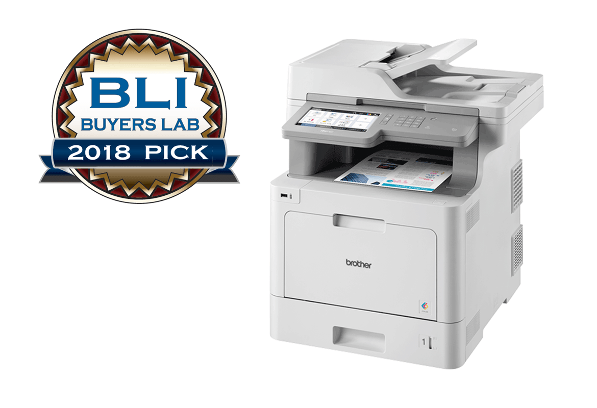 Brother colour laser printer recommended by BLI