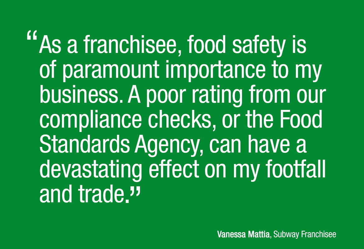 Quote taken from the Subway case study