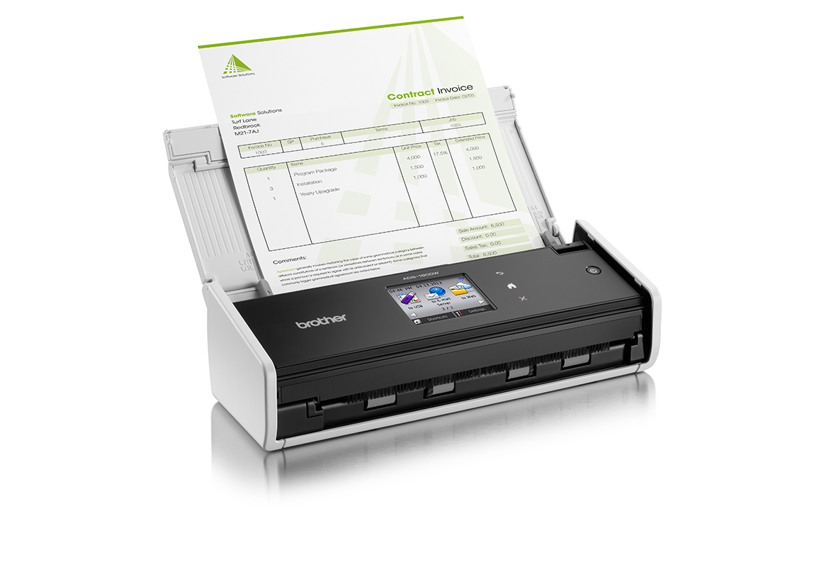 Brother ADS-1600W compact scanner