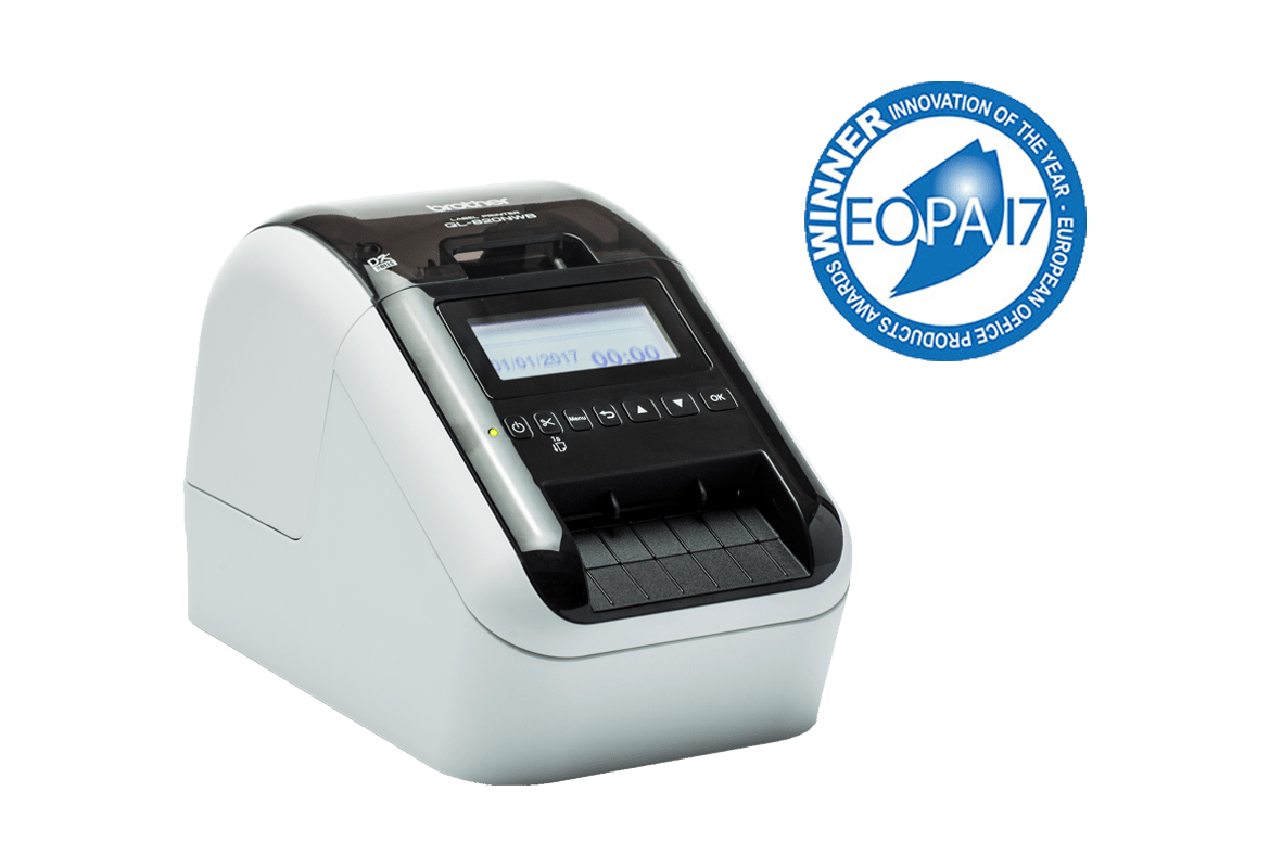 Brother QL-800 Label Printer Series wins European Office Awards 2017