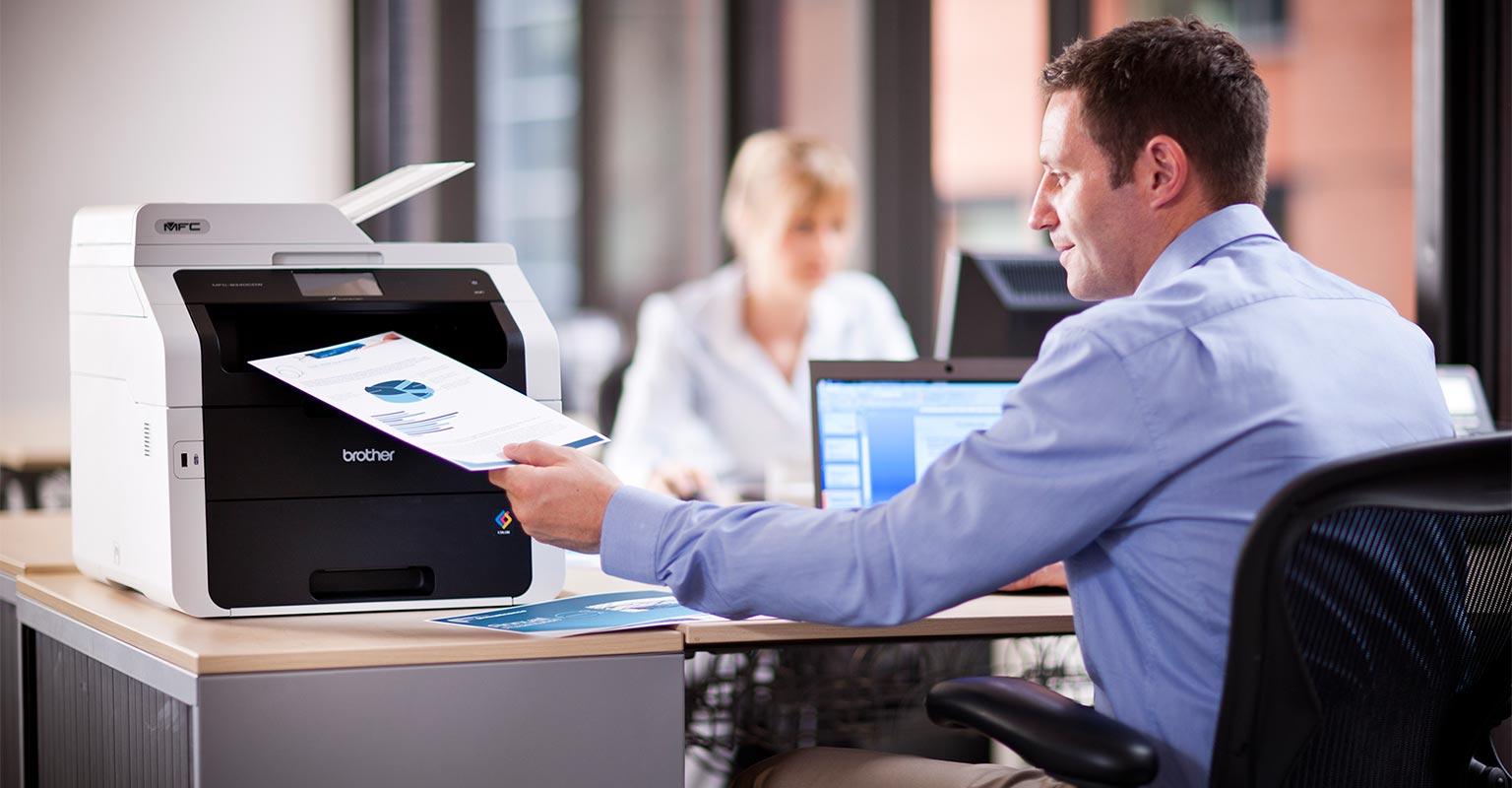 Printing a report of print jobs using printsmart