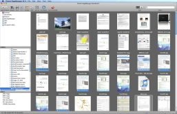 Screen shot of New Soft Presto! Page Manager software