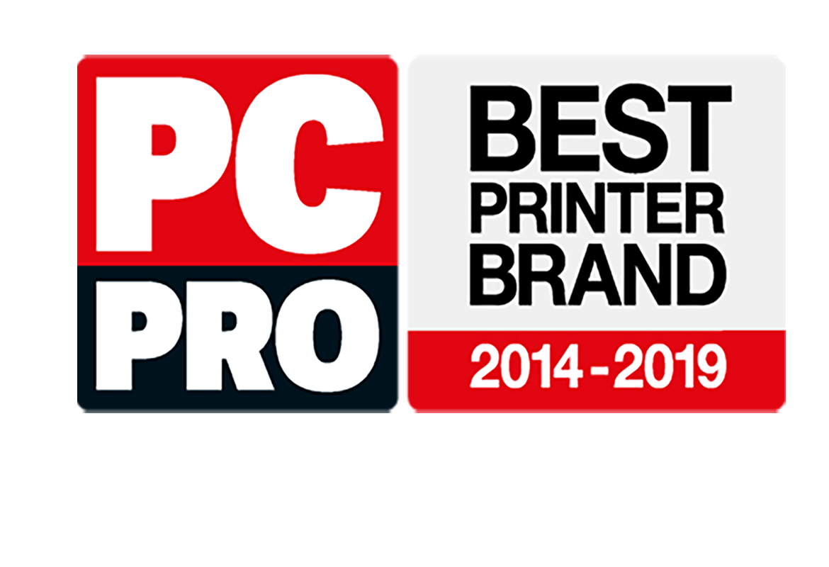 PC Pro Best Printer Brand 2014-2019