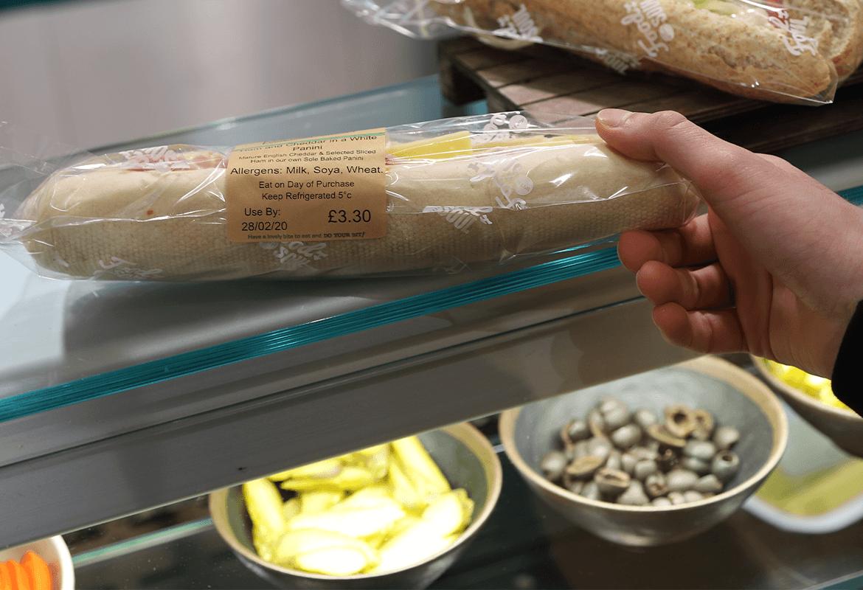 pre packaged sandwich